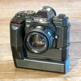 Minolta 9000 AF with Program Back Super 90, Motor Drive MD-90 and Battery Pack BP-90M