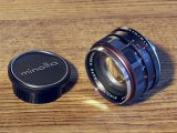 Minolta Auto Rokkor 1,4 / 58 mm