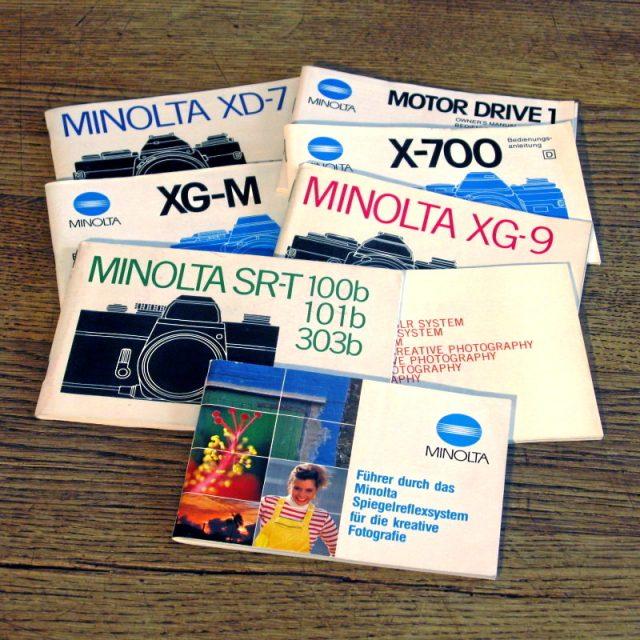 Minolta Manuals